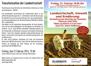 UNCTAD Veranstaltung 21 Feb Freiburg